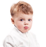Upset baby Royalty Free Stock Image