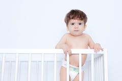 Upset baby Stock Image
