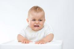 Upset baby Royalty Free Stock Image