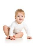 Upset baby boy Stock Photos
