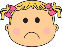 UPSET BABY Stock Images
