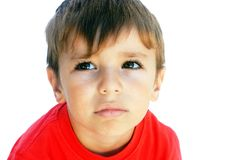 Upset Boy Royalty Free Stock Images
