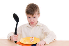 Upset boy Royalty Free Stock Photography