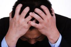 Upset businessman Stock Images