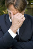 Upset businessman Stock Photos