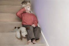 Upset child. Royalty Free Stock Image
