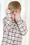 Upset child Stock Photo