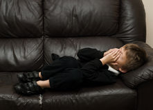Upset Child Royalty Free Stock Image