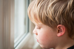 Upset child Royalty Free Stock Images