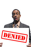 Upset Denied Man Royalty Free Stock Photography