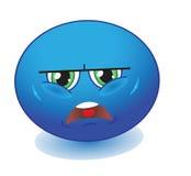 Upset emoticon Stock Image
