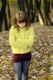 Upset Girl Stock Photography