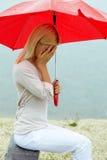 Upset girl Stock Image