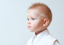 Upset little boy Royalty Free Stock Photos