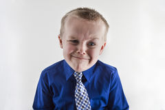 Upset looking boy Royalty Free Stock Photography
