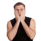 Upset man Royalty Free Stock Photos