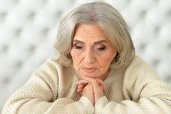 Free Upset Mature Woman Stock Photos - 83743023