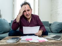 Free Upset Middle Aged Man Stressed About Credit Card Debts And Payments Not Happy Accounting Finances Stock Images - 154263184