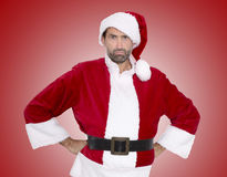 Upset Santa Claus Royalty Free Stock Images
