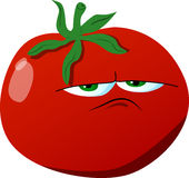 Upset tomato Stock Photos