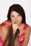 Upset woman Royalty Free Stock Photography