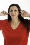 Upset Woman - Not  listening Stock Photos