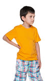 Upset young boy Royalty Free Stock Photography