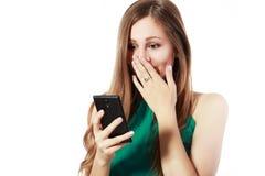 Upset young woman Stock Photos