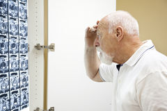 Upsetting Medical Results Stock Image