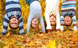 Upside down Royalty Free Stock Photos