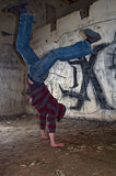 Upside-down. In the Abandoned House royalty free stock photo