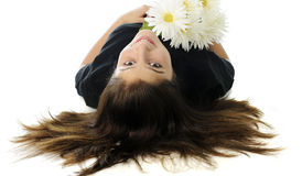 Upside-Down Beauty Stock Images