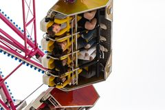 Upside Down Fun at the Fair royalty free stock images