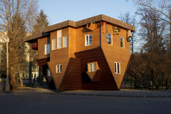 Upside down house Stock Photography