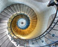 Free Upside View Of A Spiral Staircase Stock Photo - 26413920
