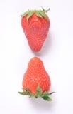 upsidedown truskawki. zdjęcie royalty free