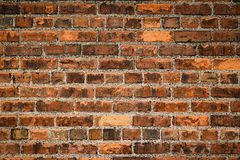 τοίχος σύστασης τούβλο&upsil Στοκ Φωτογραφίες