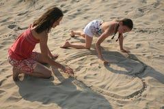 νεολαίες κοριτσιών ζε&upsilon στοκ φωτογραφία