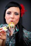 όμορφες γυναίκες σαπο&upsilon Στοκ εικόνα με δικαίωμα ελεύθερης χρήσης