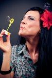 όμορφες γυναίκες σαπο&upsilon Στοκ φωτογραφία με δικαίωμα ελεύθερης χρήσης