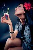 όμορφες γυναίκες σαπο&upsilon Στοκ Εικόνες