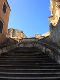 Upstairs to Crkva Svetog Stjepana,Dubrovnik,Croatia. Upstairs to Crkva Svetog Stjepana.At Dubrovnik,Croatia Royalty Free Stock Image
