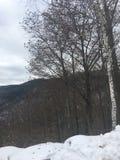 Upstate Nowy Jork krajobraz fotografia royalty free