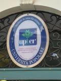 Upter, de Universiteit van Mensen van Rome royalty-vrije stock afbeelding