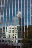 Uptown Charlotte, Noord-Carolina Stock Afbeelding