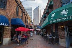 Uptown Charlotte, North Carolina Royaltyfri Bild