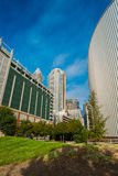 Uptown Charlotte Stock Photo