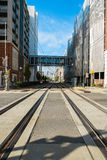 Uptown Charlotte Royalty Free Stock Photography