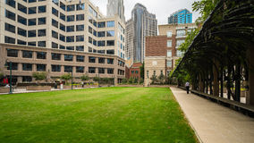 Uptown Charlotte Royalty Free Stock Photos