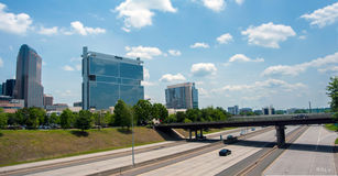 Uptown Charlotte, North Carolina Cityscape Stock Photo
